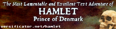 Hamlet The Text Adventure won 393<small>rd</small> last week on BBOGD.